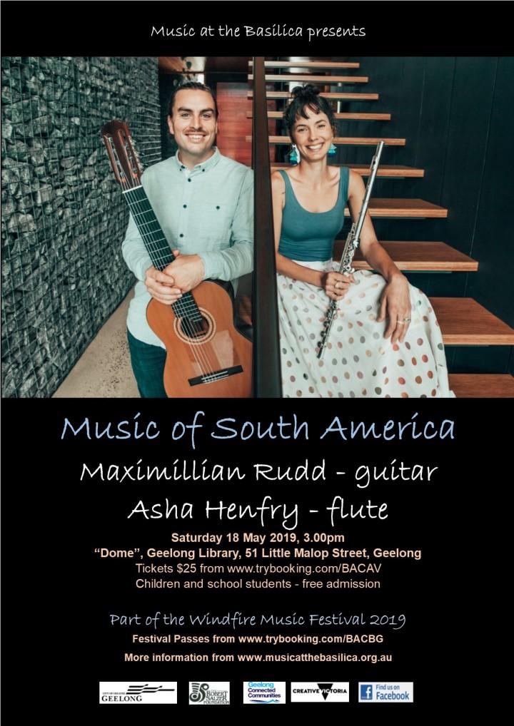 2019 A4 South America Festival Poster